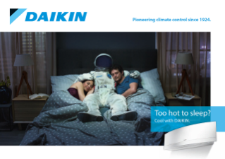 Daikin - The future feels good (Bedroom)