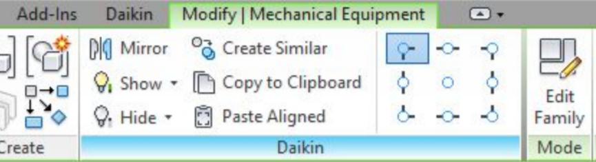 Daikin's new Revit Ribbon puts the latest BIM Object