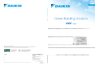 JIV1701 - VRV green building solutions reference catalogue
