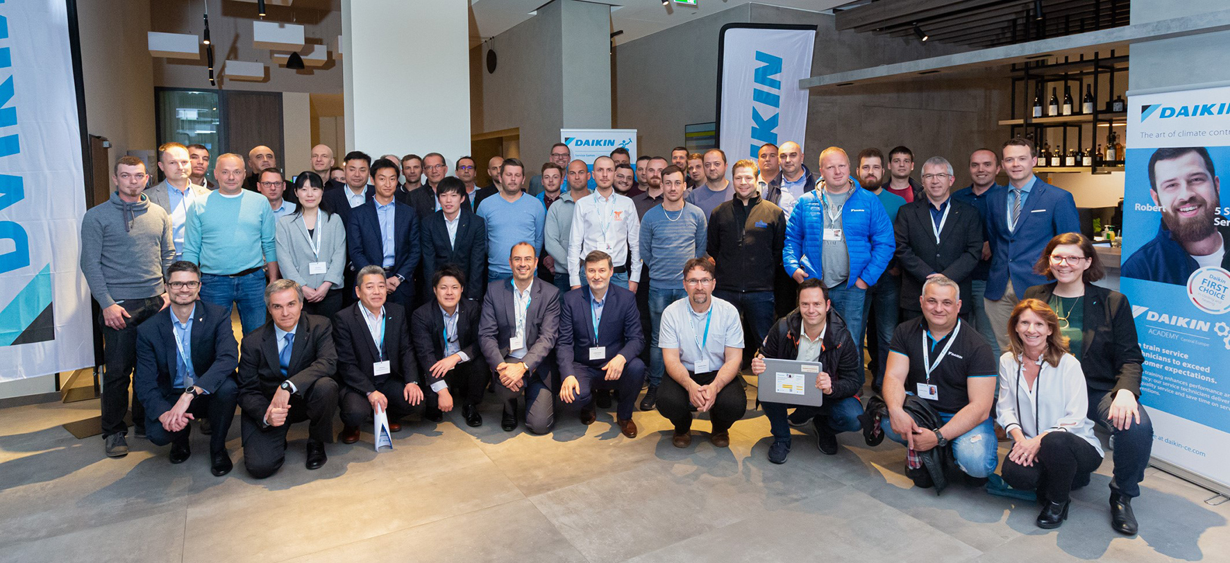 Daikin Service Games Central Europe - group picture
