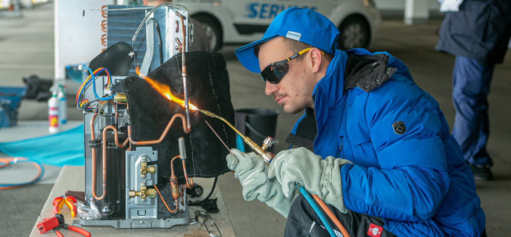 Daikin Service Games Central Europe - Brazing